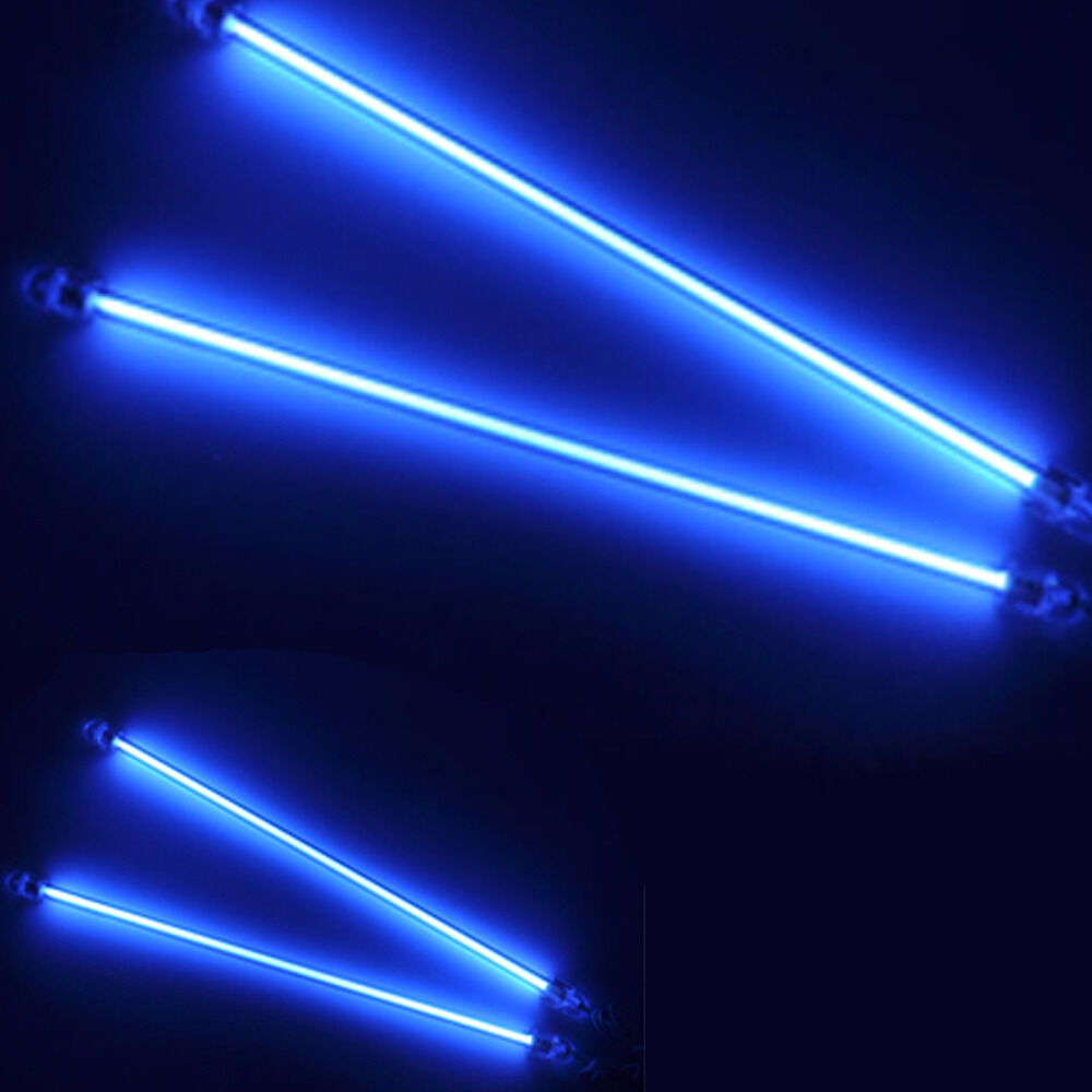 6 12 car blue undercar underbody neon kit lights ccfl cold cathode tube ebay. Black Bedroom Furniture Sets. Home Design Ideas