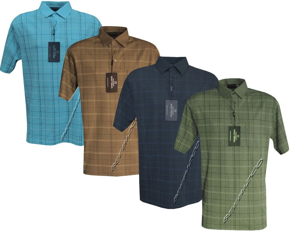 Mens Golf Shirts With Pockets