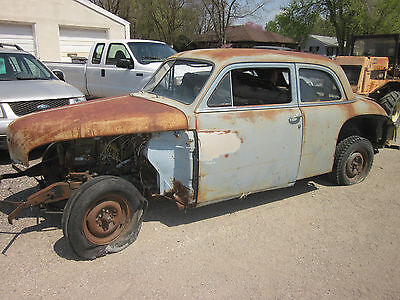 49  1949 Plymouth Special deluxe street rod hot rod rat rod