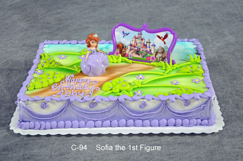 Sofia The First Sophia Castle Princess Birthday Cake Party