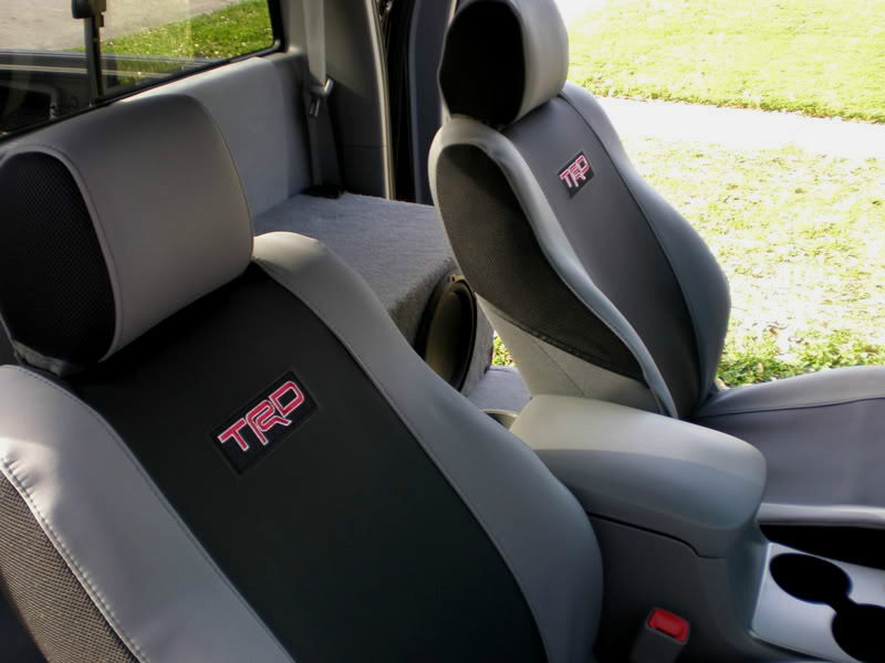2005 2008 Tacoma Trd Sport Offroad Xrunner Front Seat
