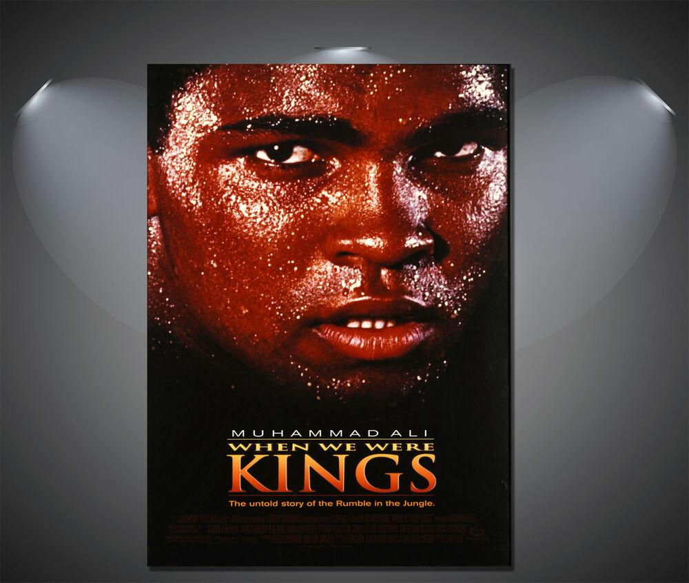 muhammad ali when we were kings Vintage Movie Poster - A1, A2, A3, A4 available | eBay