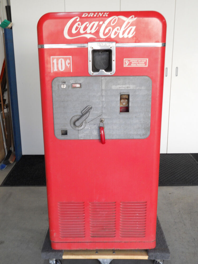 Coke machine 2 vintage machines - antiques - by owner