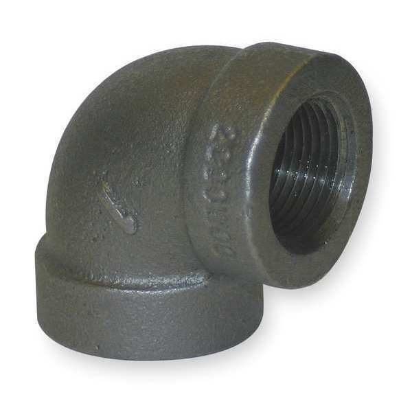 Quot fnpt black malleable iron degree elbow p ebay