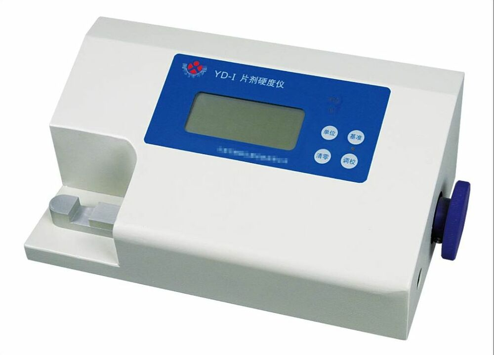 Instrument And Machine Testers : Tablet hardness tester physical measuring instrument