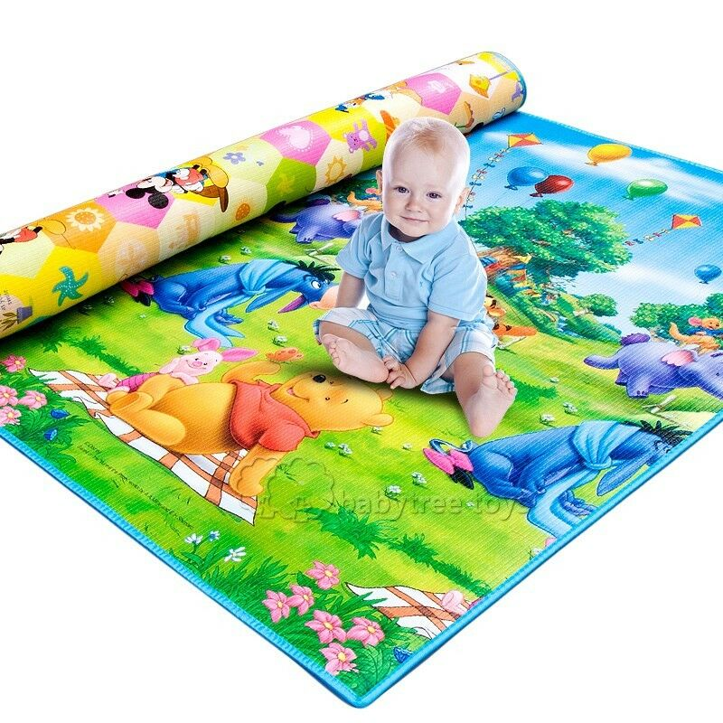 new baby kids foam play mat carpet playmats blanket rug 200 180 0 5 cm ebay. Black Bedroom Furniture Sets. Home Design Ideas