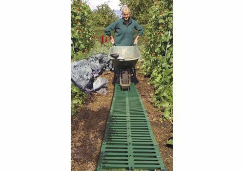 Instant Garden Roll : M green instant waterproof roll out path track garden