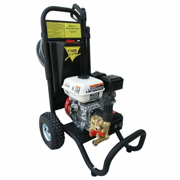 Cam spray semi pro 2700 psi gas cold water pressure for Concrete pressure washer