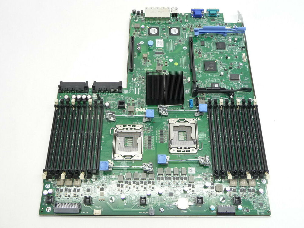 dell poweredge r710 00nh4p nh4p six core g2 gii motherboard system board ebay. Black Bedroom Furniture Sets. Home Design Ideas