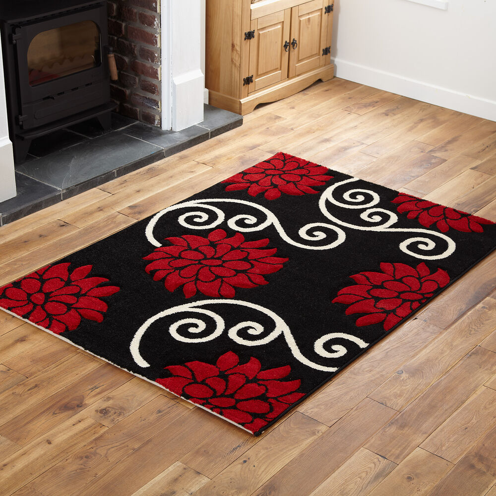 Black And White Extra Large Rug: SMALL X EXTRA LARGE MODERN RUGS
