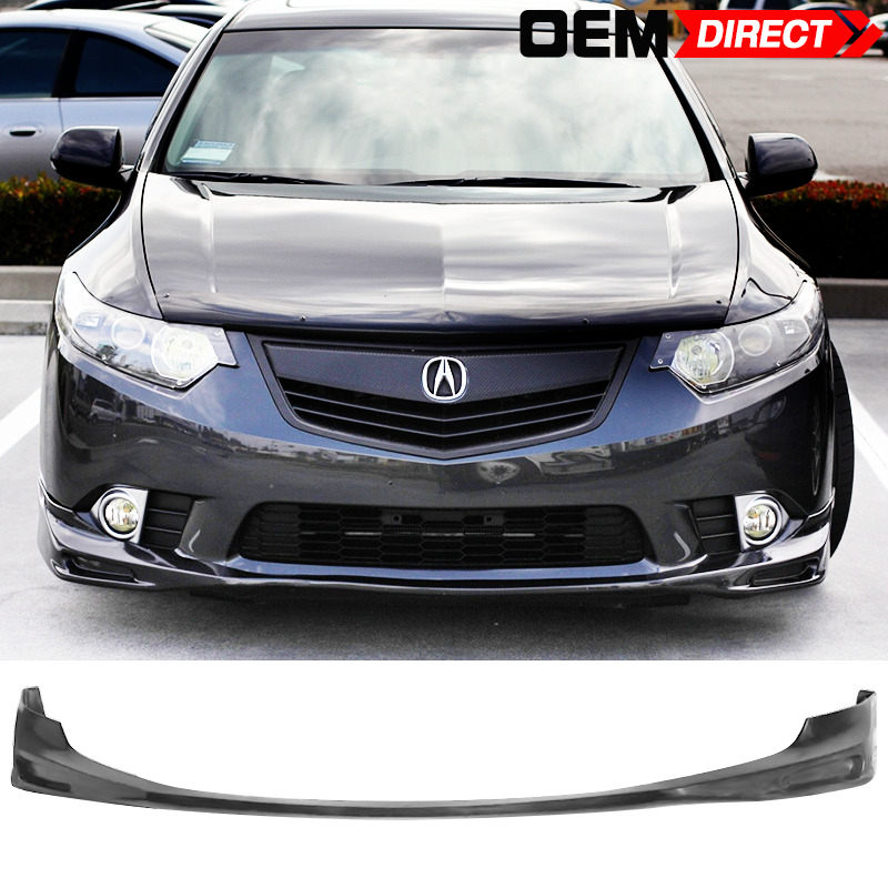 2008 Acura Tl Oem Style Lip Spoiler: For 09-10 Acura Tsx Cu1 Jdm Type S Style Front Lip Spoiler