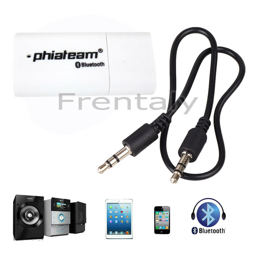 mini bluetooth usb stereo audio music receiver adapter car. Black Bedroom Furniture Sets. Home Design Ideas