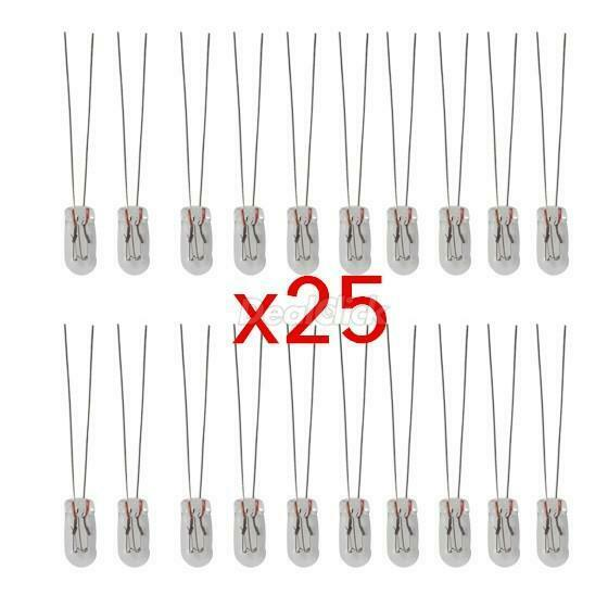 25pcs 5mm grain of wheat bulbs clear 12v 95ma wire bulbs lighting amber kit
