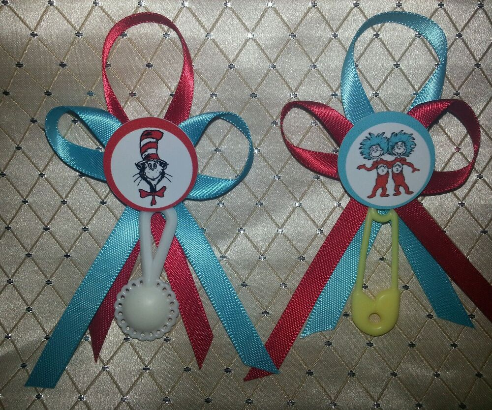 Cat In The Hat Baby Shower Supplies