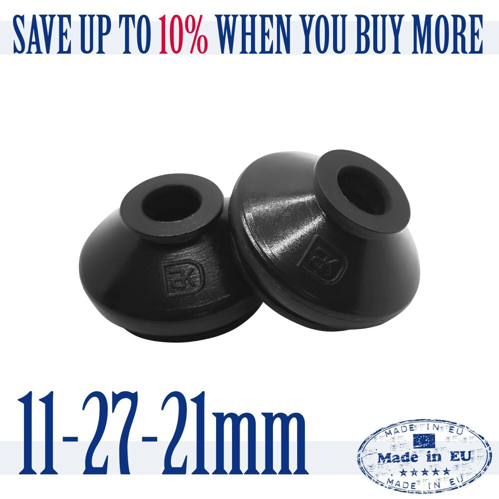 2 X UNIVERSAL High Quality Rubber 11 27 21 Track Rod End and Ball Joint Boots | eBay