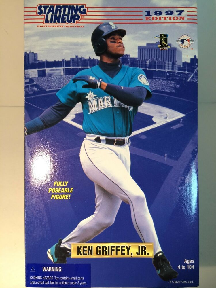 """1997 Starting Lineup Fully Poseable 12"""" Doll Seattle ..."""