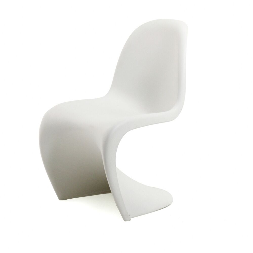 panton chair verner panton vitra wei stuhl kunststoff freischwinger ebay. Black Bedroom Furniture Sets. Home Design Ideas
