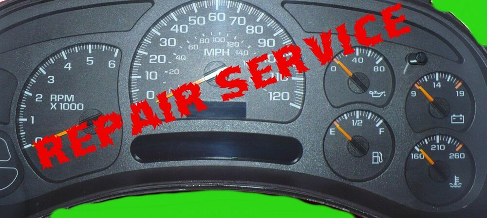 2003 chevy avalanche instrument panel cluster repair kit for 2004 silverado stepper motor