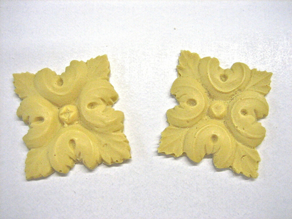 Dollhouse miniature wall decor set of 2 resin for Resin wall art