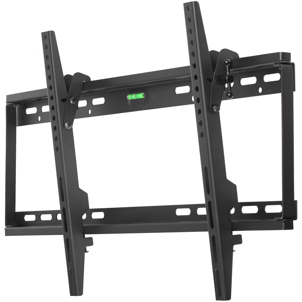 37 65 lcd led plasma dual hook flush tilt tv wall mount bracket flat screen ebay. Black Bedroom Furniture Sets. Home Design Ideas