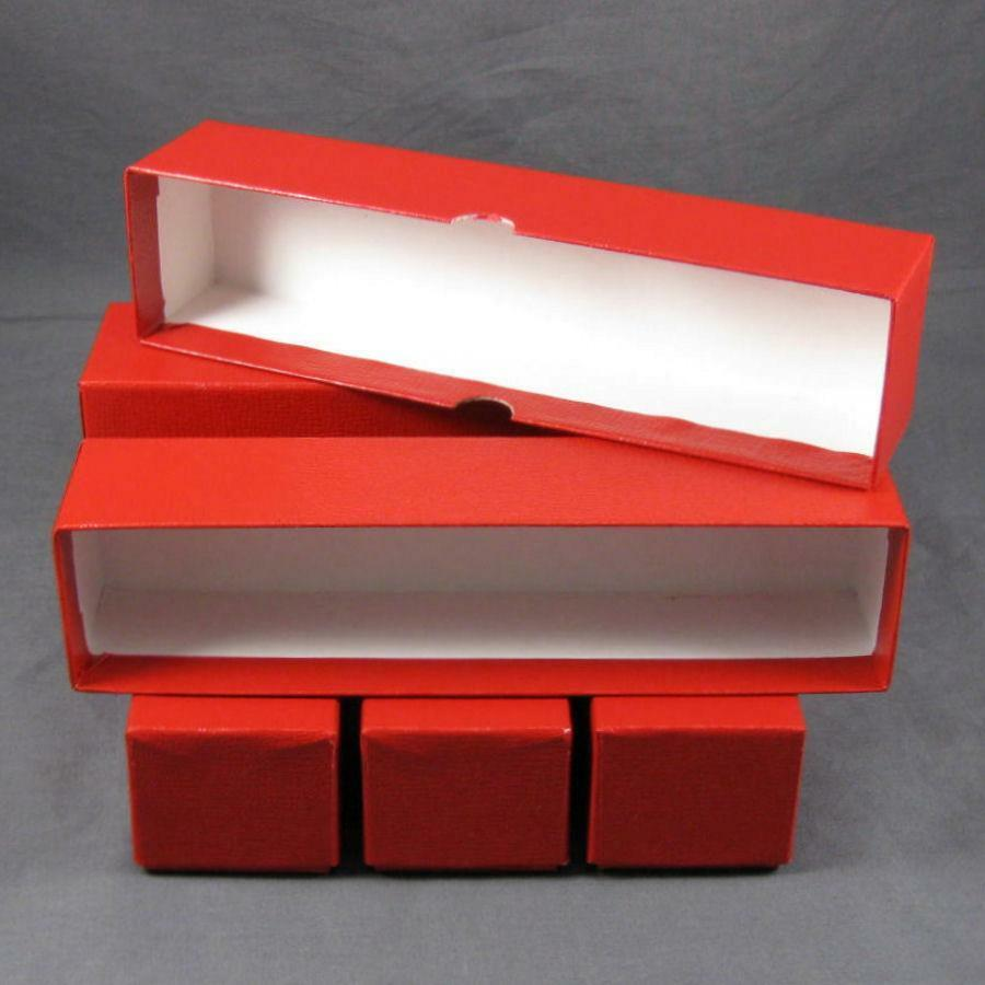 5 coin storage boxes for 2x2 coin holders and flips 9x2x2 for Money storage box
