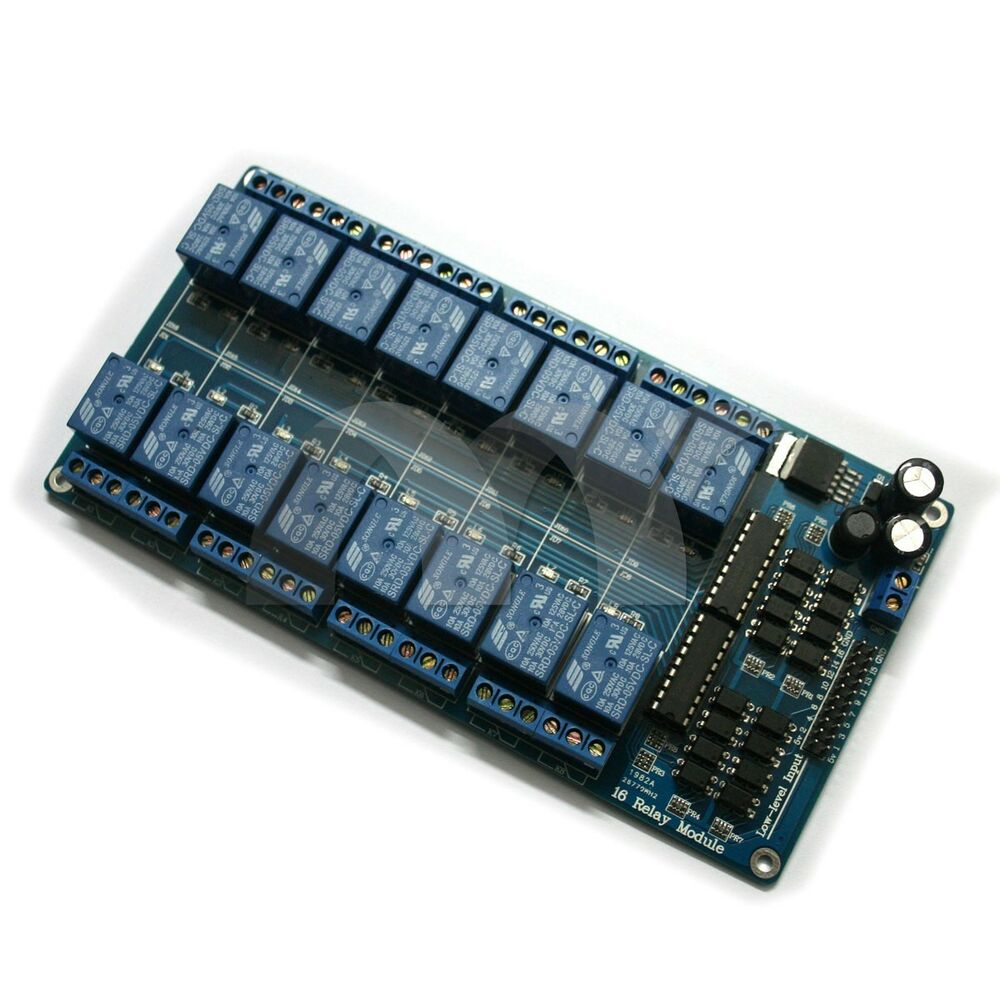 Channel v relay shield module for arduino uno