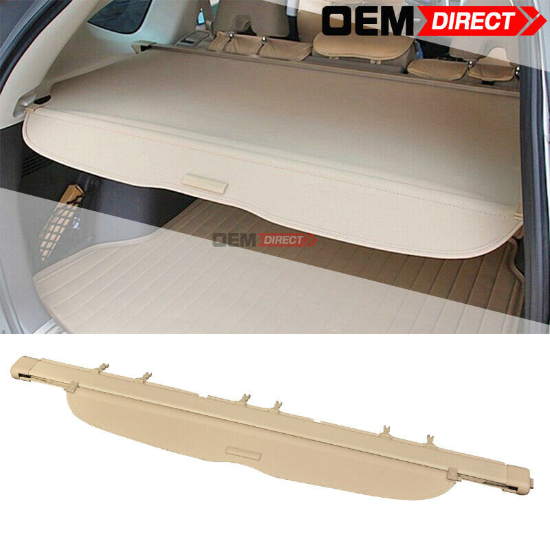 07-09 Honda Crv OE Style Beige Rear Cargo Security Trunk Cover ...