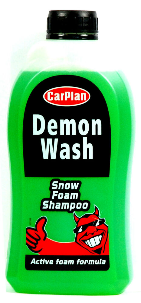 demon wash snow foam shampoo removes traffic film dirt. Black Bedroom Furniture Sets. Home Design Ideas