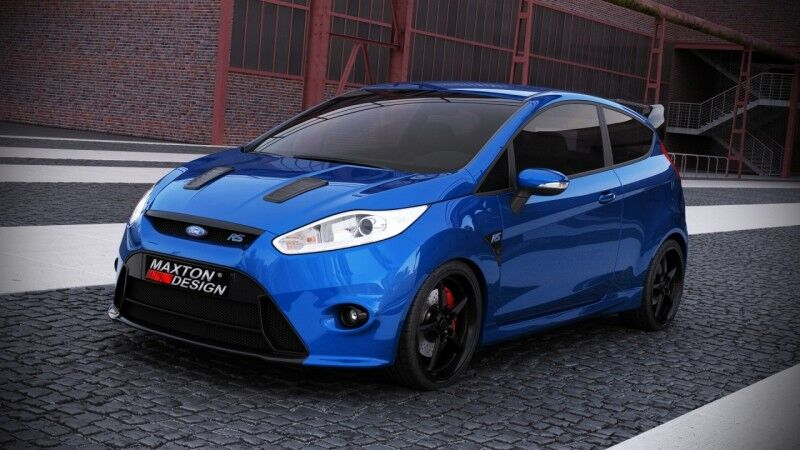 Front Bumper Ford Fiesta Mk7 Facelift Focus Rs Look