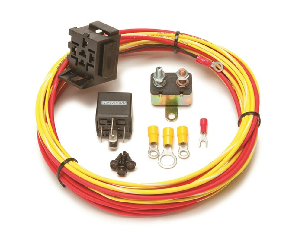 Painless Wiring 50102 Universal 30 Amp Fuel Pump Relay