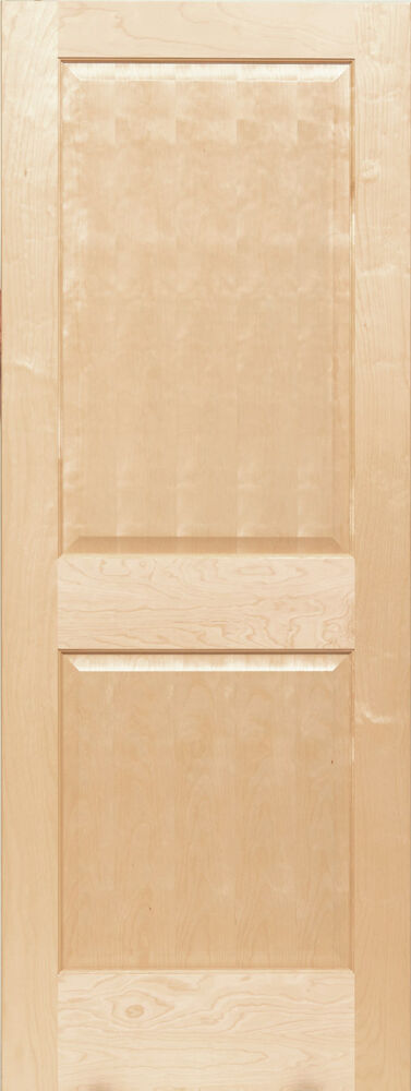 2 panel raised traditional premium birch stain grade solid for Solid core flush panel interior doors