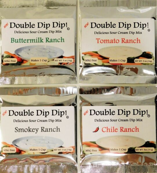 Dip Mixes Double Dip Dip! Delicious Sour Cream Dip Mix - FREE SHIPPING!