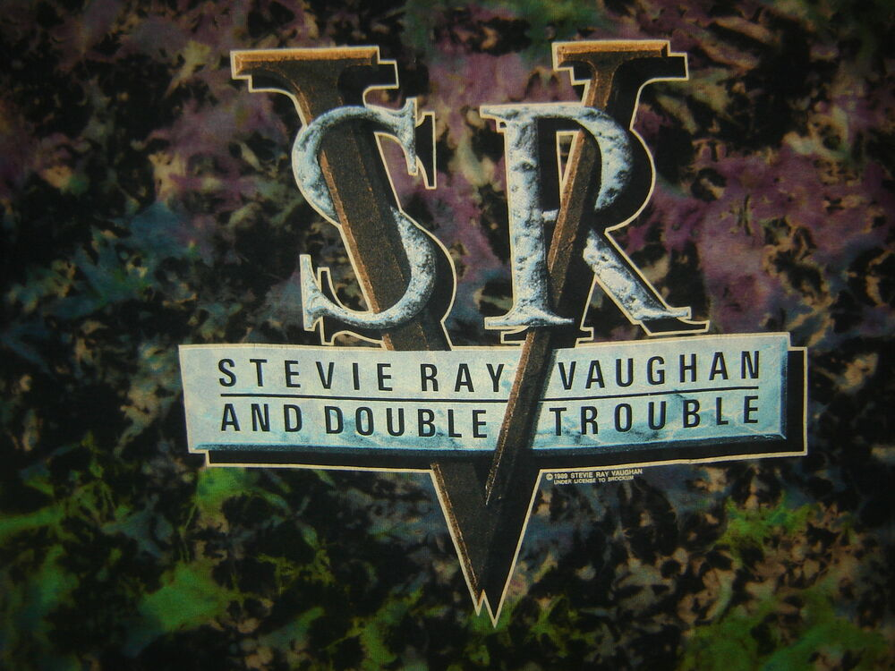 vintage concert t shirt stevie ray vaughan 89 never worn worn never wash ebay. Black Bedroom Furniture Sets. Home Design Ideas