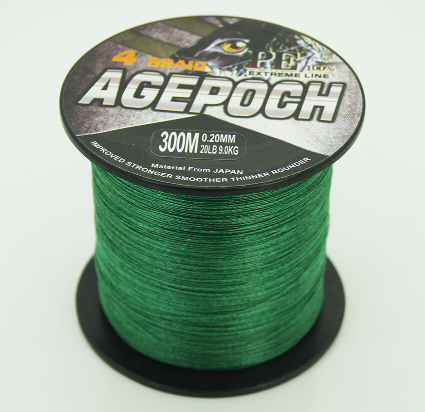 Super strong pe dyneema spectra braid fishing line 300m for Spectra fishing line