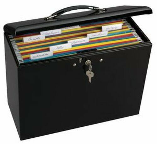 master lock locking steel security file box office home paper storage organizer ebay. Black Bedroom Furniture Sets. Home Design Ideas