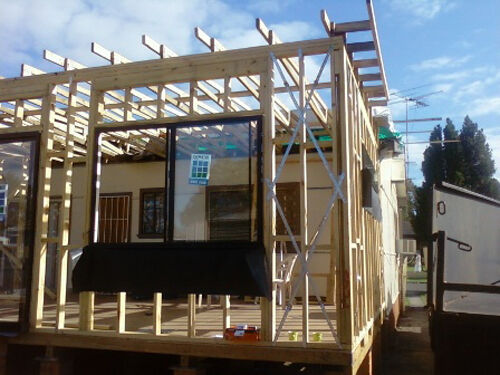 house and roof framing practical timber framing ebay