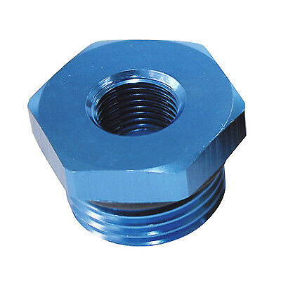 An fittings quot npt to reducer fitting blue