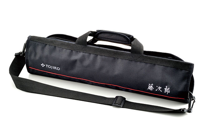 japanese tojiro soft kitchen knife bag f 355 carry case for chef santoku knives ebay. Black Bedroom Furniture Sets. Home Design Ideas