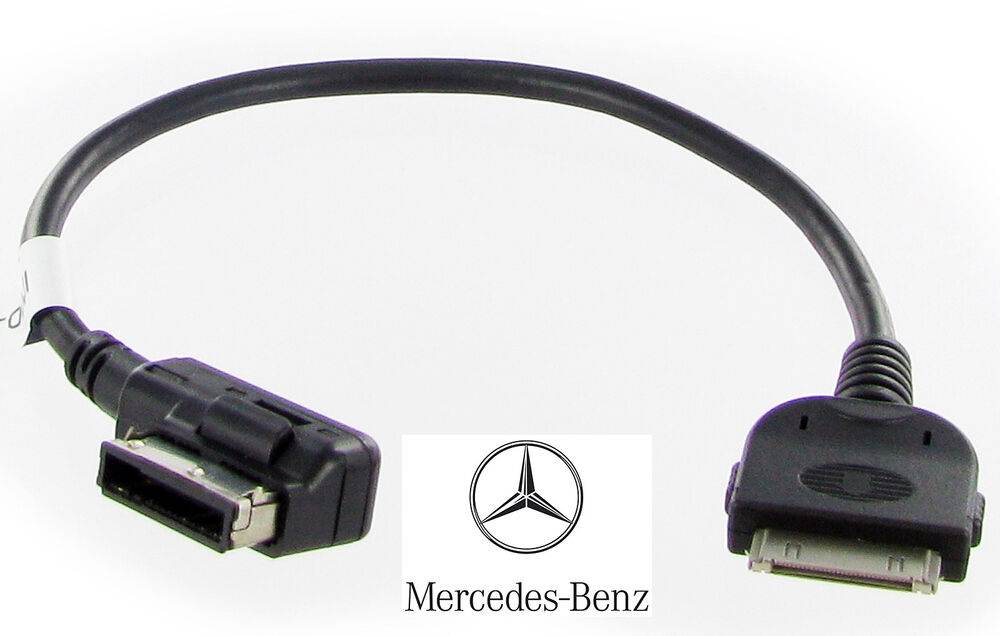 mercedes ipod iphone cable lead adapter a b c clk s cl e