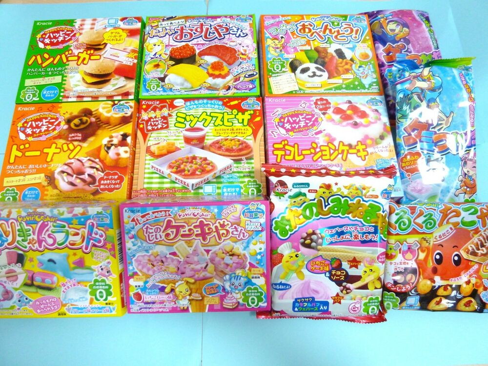 Kracie popin cookin happy kitchen Sushi Bento Cake ...