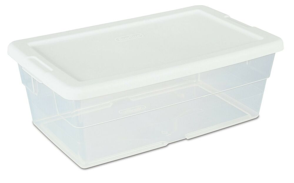 Shop our selection of Plastic, White, Storage Containers in the Storage & Organization Department at The Home Depot.