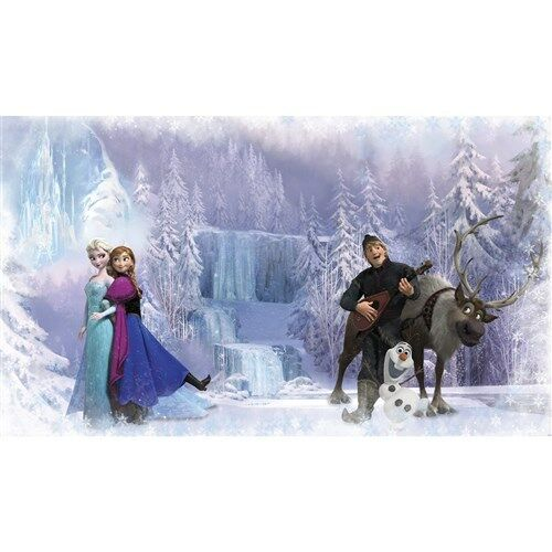 Disney Frozen Chair Rail XL Full Size Wall Paper Mural