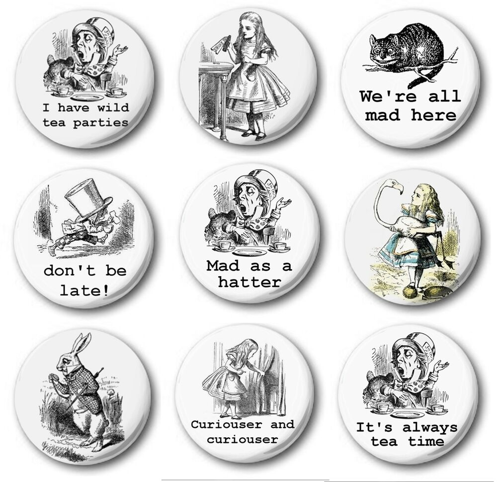 Button Badge Design in various designs 1 quot 25mm button badge novelty ebay