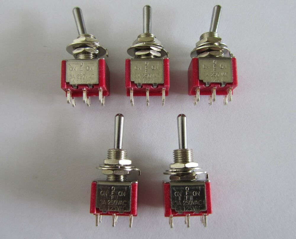 Switches Mini Rocker Switches Mini Rocker Switch Dpdt Onoffon