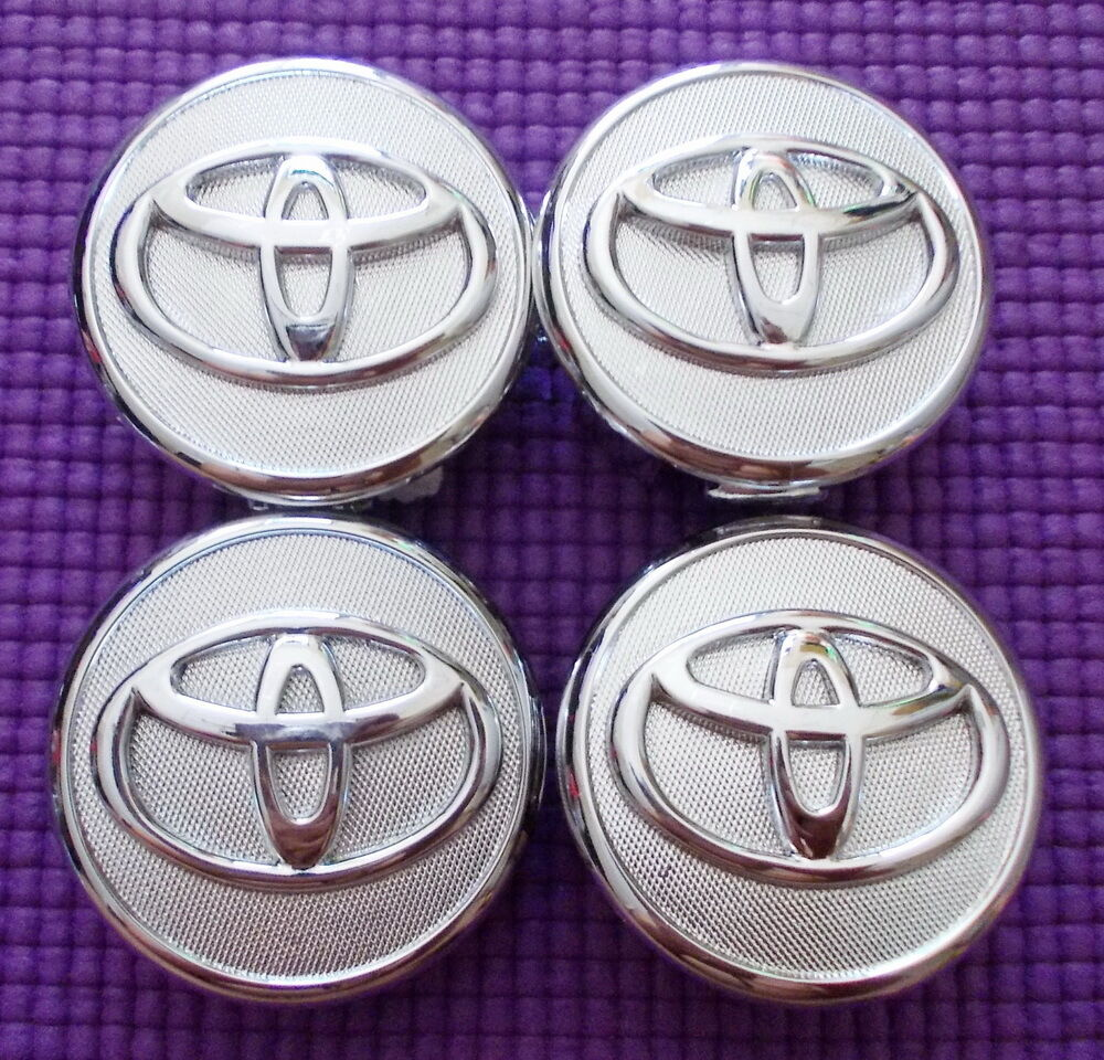 NEW SET OF 4 TOYOTA 57 MM. WHEEL CENTER CAPS, HUB CAPS FOR ...