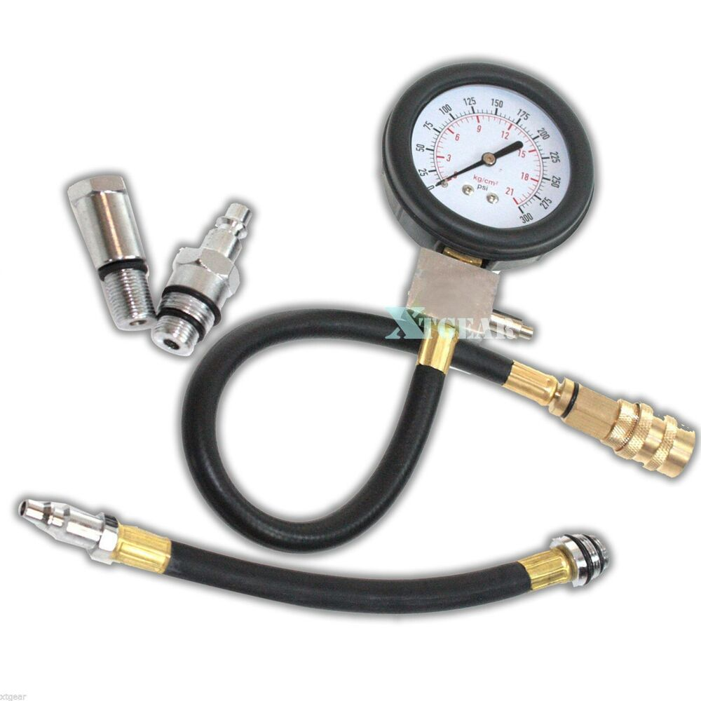 Auto Engine Gauges : Auto motor multi function gas engine compression cylinder