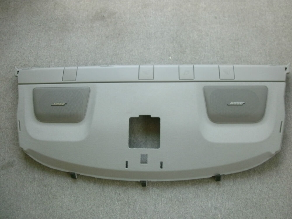 Nissan Altima 2007 >> Rear Window Parcel Shelf Bose Speaker Trim 2007-2012 Nissan Altima OEM Factory | eBay