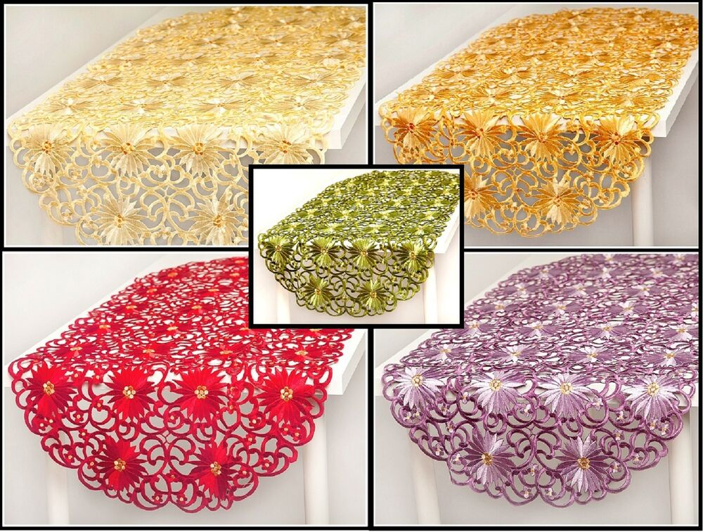 Tablecloth table runner for your home 7 colours amazing for 120 table runners