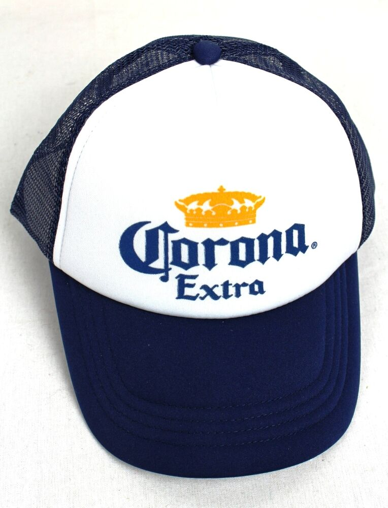 New Corona Truckers Cap Merchandise Beer Gear Unisex Hat New Great Quality  BLUE  66eab6fbdb2
