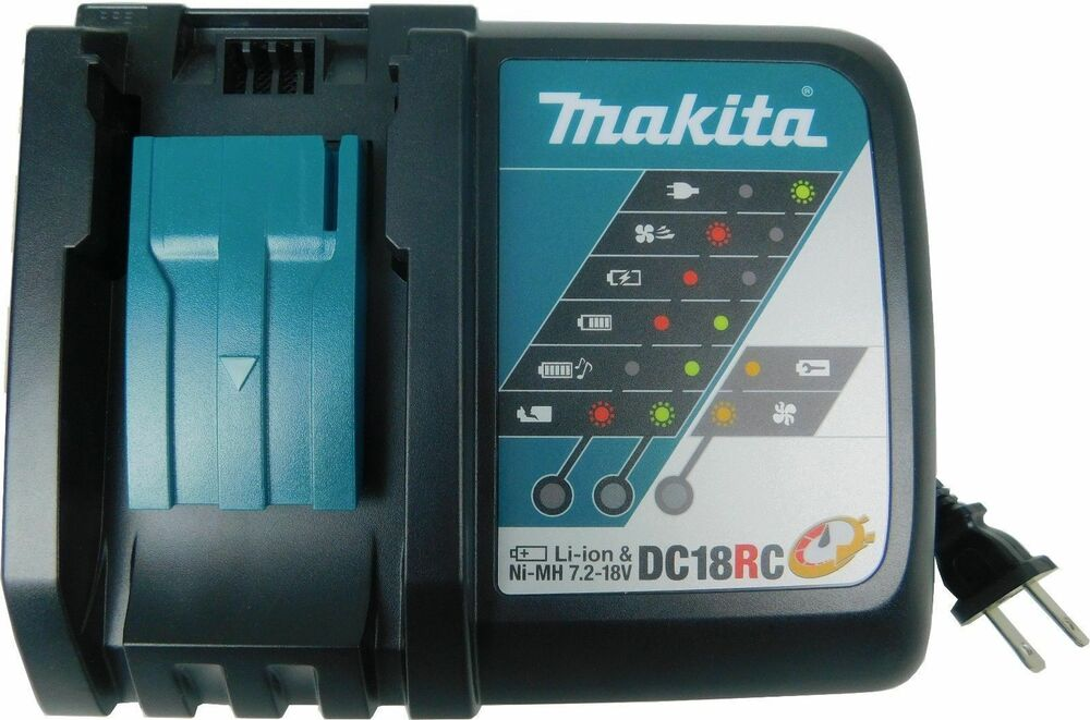 New Makita 18v Lithium Ion Battery Rapid Charger Dc18rc